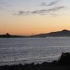 Golden Gate bridge vanuit het huis