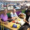 Met Brenda op SPL. Bren naar Alicante, wij naar Mont Pellier