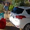 Huurauto Ford Bmax en bagage na 1 dag...