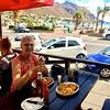 Eerste lunch in Gordons Bay