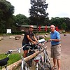 2014 - 10 juni Holterberg, fietsen met Emile