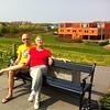 2013 - 6 mei Met Emile in Almere