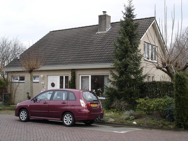 Januari 2007. Ons net gekochte huis. Foto's nog met de inrichting van de familie Niessink.