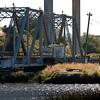 Petaluma river turnstile bridge rotting away.