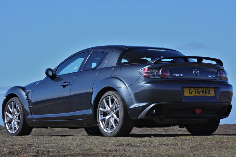 RX8 at the Point of Ayre - April 2011