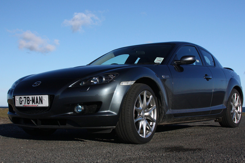 RX8 at the Point of Ayre - October 2010