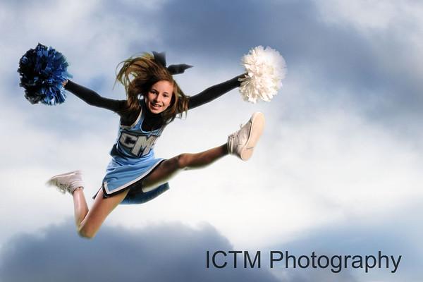Rachel Cheerleader shots