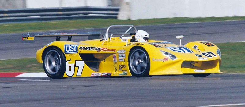 First ever Grand Am Race @ California Speedway in Fontana.