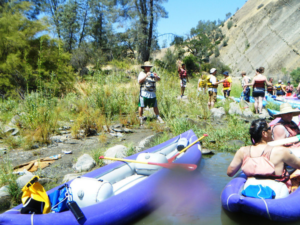 Rafting Cache Creek River 2010