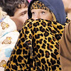Don Knight/The Herald Bulletin<br /> A Shenandoah fan is bundled up as she watches the Raiders host Scecina for the sectional championship on Friday.