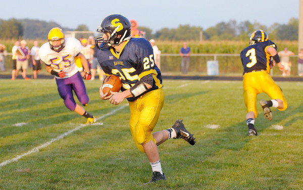 Don Knight/The Herald Bulletin<br /> Shenandoah hosted Hagerstown on Friday.