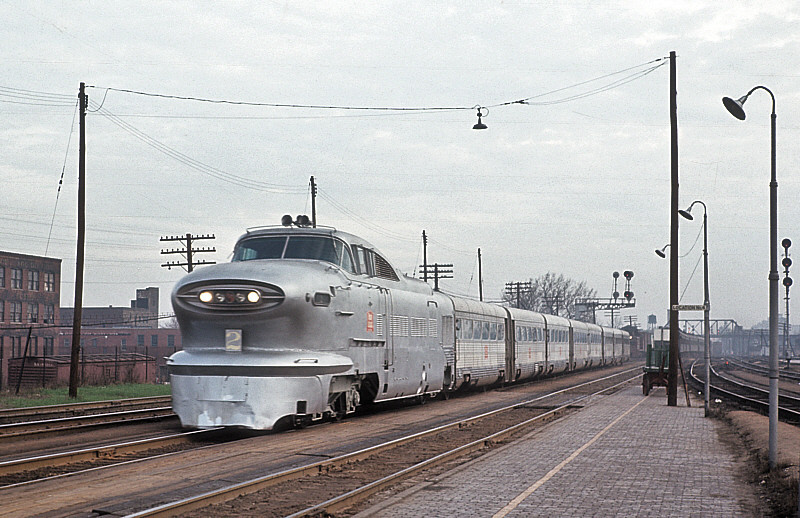 """GM """"Train of Tomorrow"""" after being purchased by the Rock Island."""