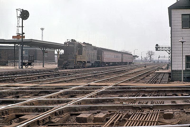 Pennsylvania Railroad GP7 #8551