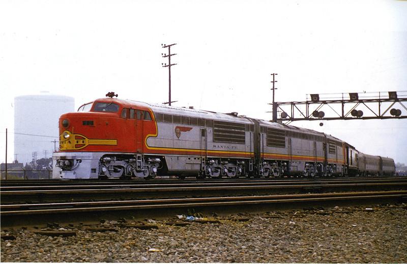 Fairbanks-Morse Erie-Builts pictured near Los Angeles Union Passenger Terminal in 1956.  Photo by Gordon Glattenberg