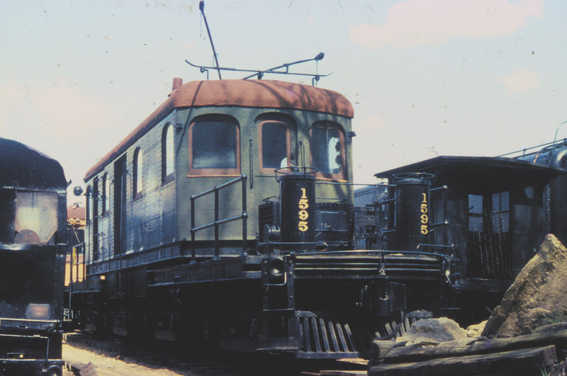Illinois Traction System Electric Locomotive #1595, photographed at the National Museum of Transport in St. Louis, MO<br /> (Photo by William A. Shaffer)