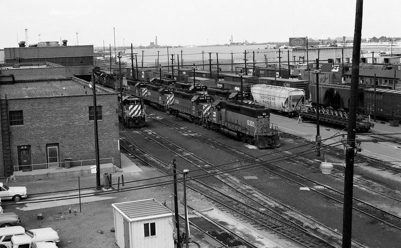 BN Locomotives at Denver, CO<br /> (Photo by William A. Shaffer)