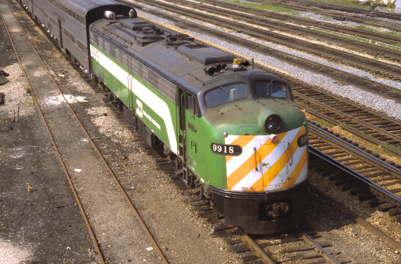 Chicago Suburban Service:  BN #9918<br /> (Photo by William A. Shaffer)