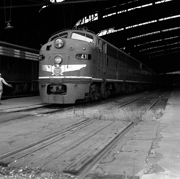 Missouri Pacific #41 at St. Louis Union Station<br /> (Photo by William A. Shaffer)