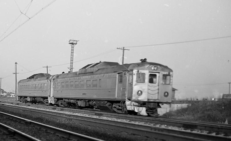 B&O RDCs in Pennsylvania (1969)<br /> (Photo by William A. Shaffer)