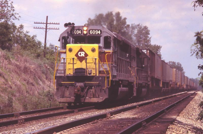 ConRail ex-E-L #6094 near Troy, IL<br /> (Photo by William A. Shaffer)