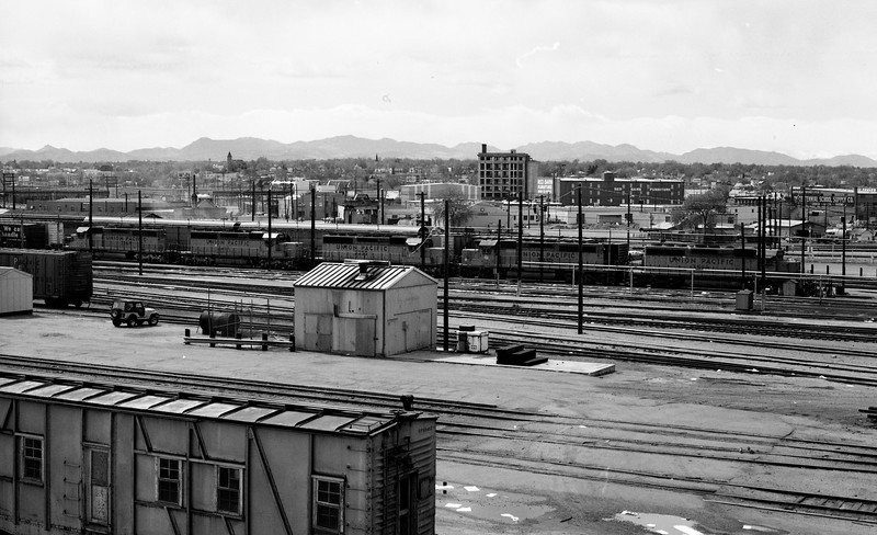 Union Pacific Yard - Denver, CO  (1982)<br /> (Photo by William A. Shaffer)
