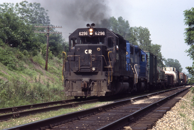ConRail #6296 near Troy, IL<br /> (Photo by William A. Shaffer)
