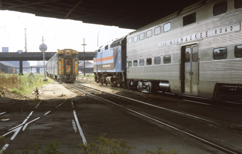 Chicago Suburban Service<br /> (Photo by William A. Shaffer)