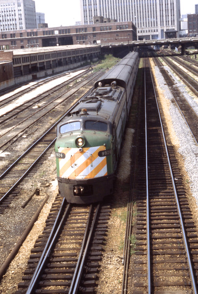 Chicago Suburban Service:  BN #9924<br /> (Photo by William A. Shaffer)