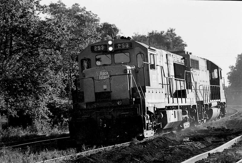 Rock Island #253 in Bureau County, IL.<br /> (Photo by William A. Shaffer)
