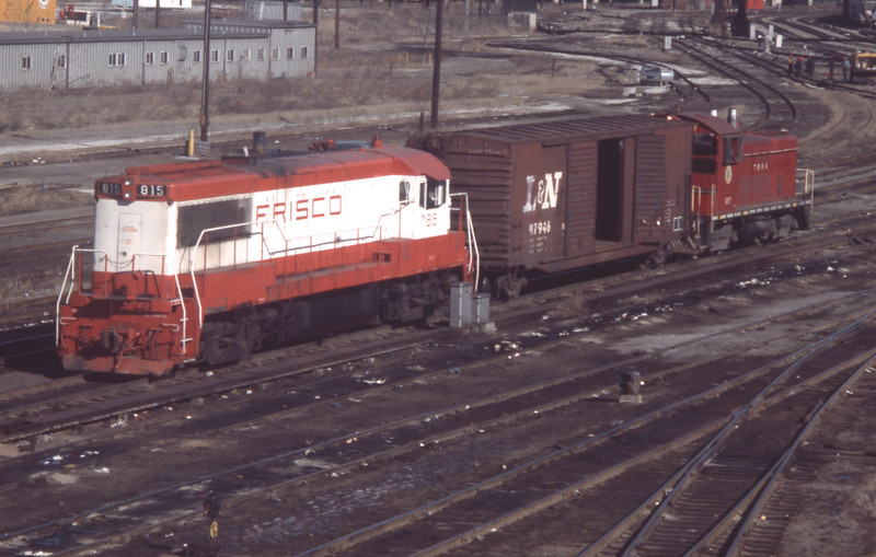 Frisco Locomotive #815 at St. Louis, MO<br /> (Photo by William A. Shaffer)