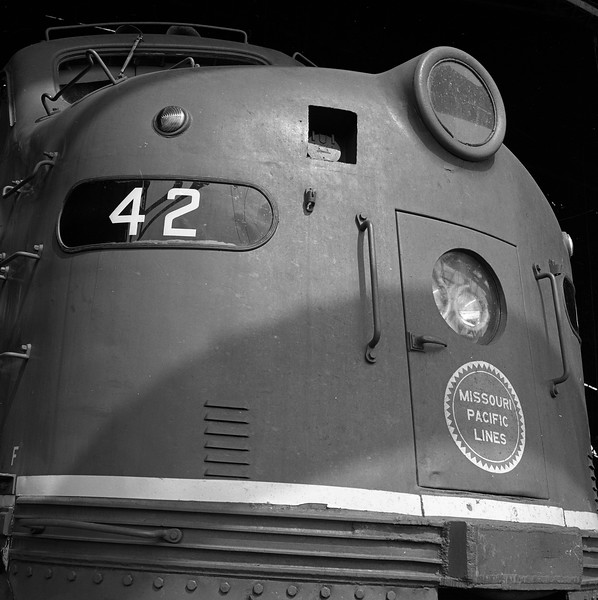 Missouri Pacific #42<br /> (Photo by William A. Shaffer)