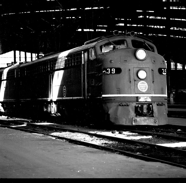 Missouri Pacific #39 at St. Louis Union Station<br /> (Photo by William A. Shaffer)