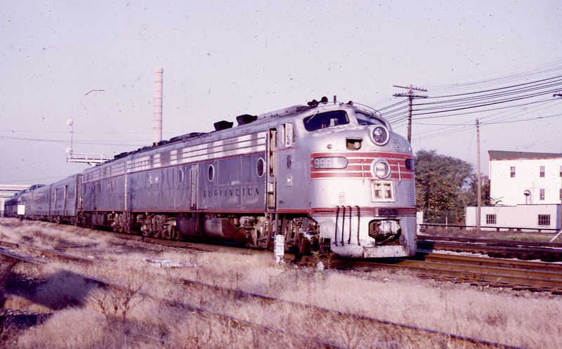CB&Q #9967 at Galesburg, IL<br /> (Photo by William A. Shaffer)