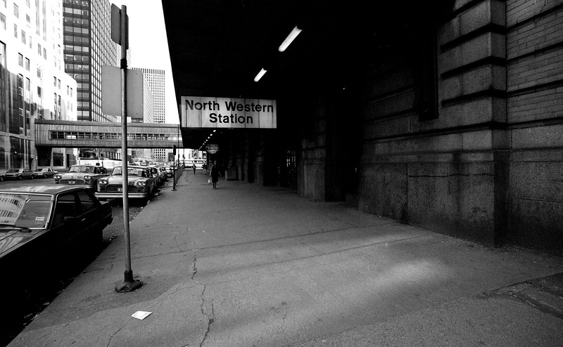 Side Entrance to Northwestern Station - Chicago, IL<br /> (Photo by William A. Shaffer)