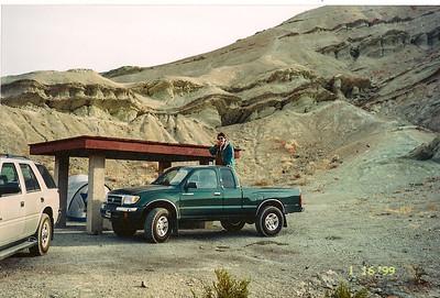 1/17/99 Owl Canyon Campground, Rainbow Basin Natural Area. San Bernardino County, CA