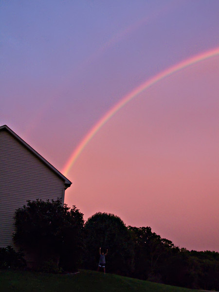 20090910 191555 ZIONSVILLE AROUND THE HOUSE RAINBOW IMG_3026