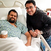 Raja came to visit me after my open heart surgery at the Cleveland Clinic in Dec of 2014