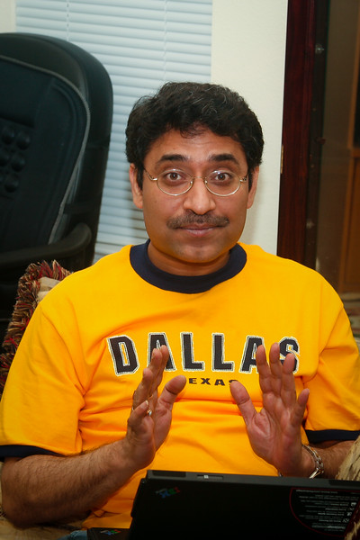 In 2007, Raja visited Austin few times