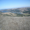 Sublime views. San Pablo Reservoir with the Carquinez Straight behind.