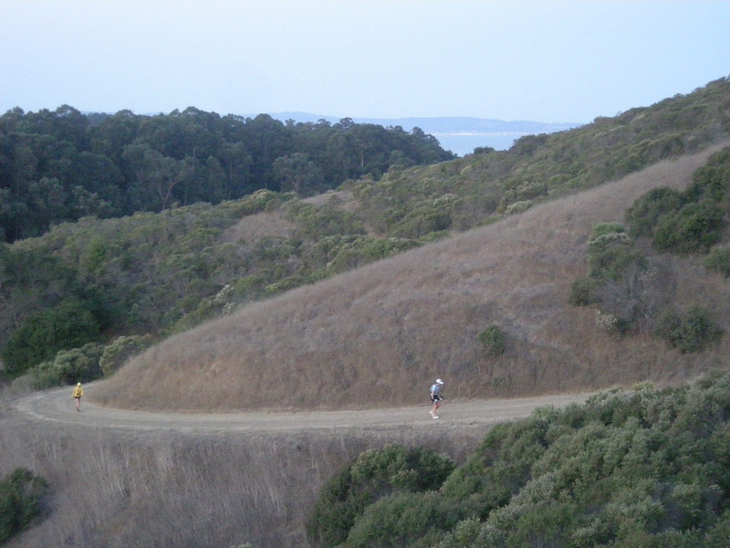 Nice and steep. Great way to warm up!