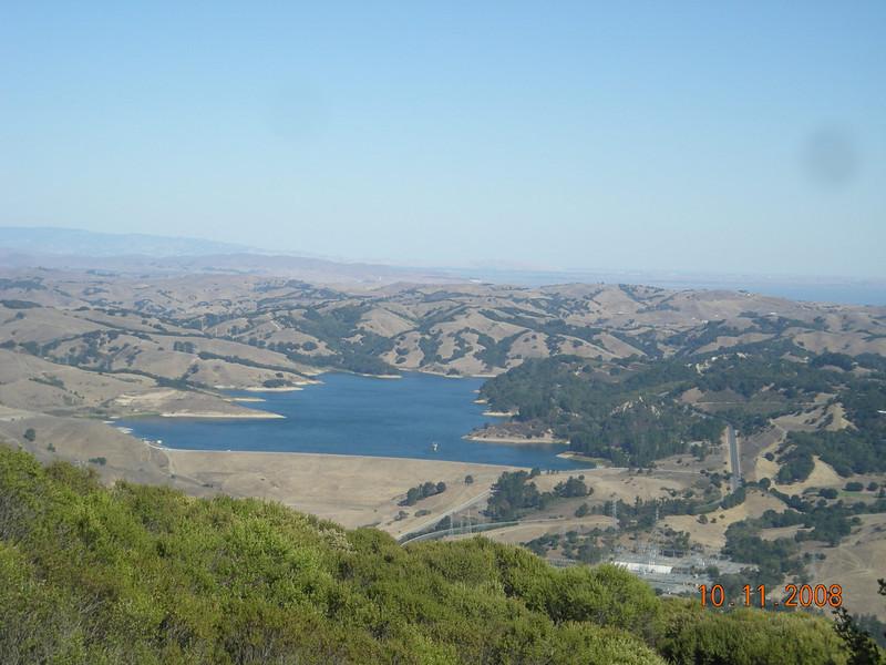 Briones Reservoir.