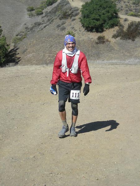 Nattu Natraj had a great day - he ran 9:48!