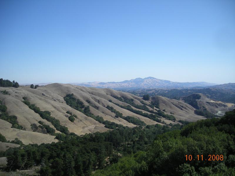 Mt. Diablo off in the distance.
