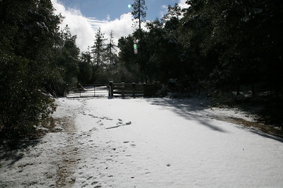 Ranch in snow '08