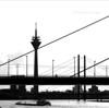 Rheinbrücke in Düsseldorf