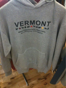 What happens in Vermont...