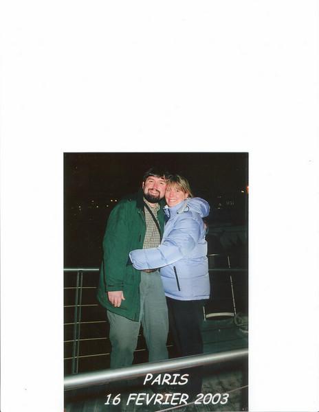 We went to Paris in Feb. 2003.  It wuz COLD!!!