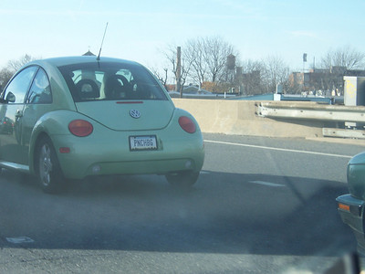 Punch Buggy Green!