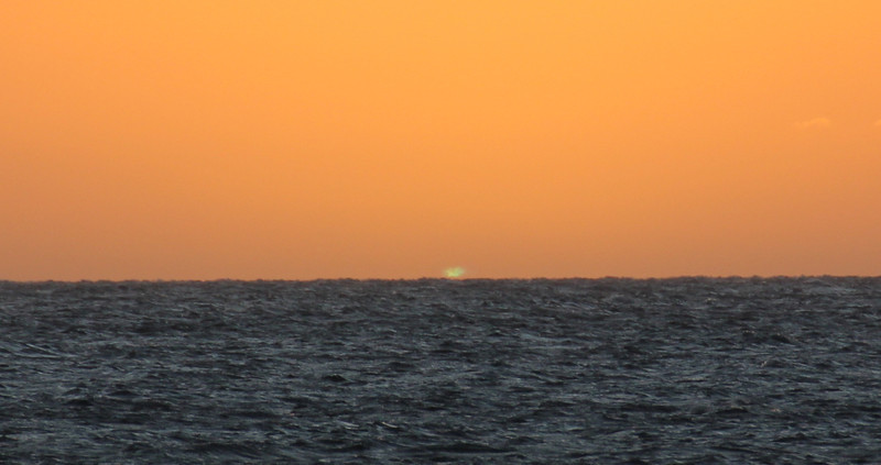 Maui Sunset Green Flash