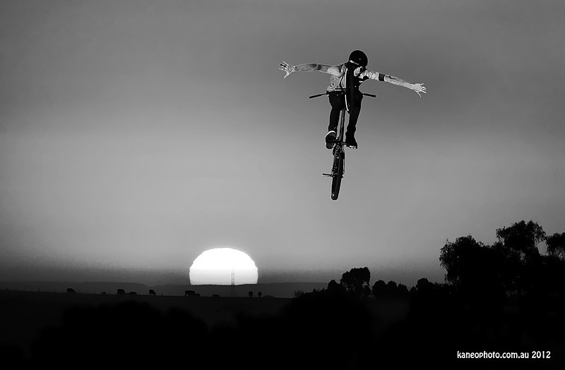 Brad Wright sunset comp